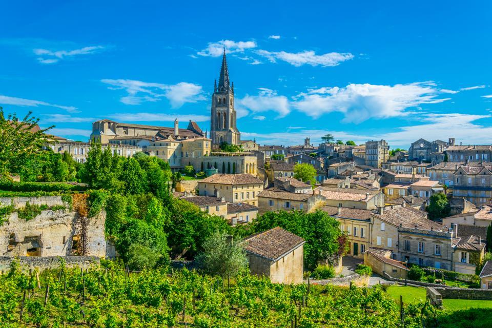 French village Saint Emilion