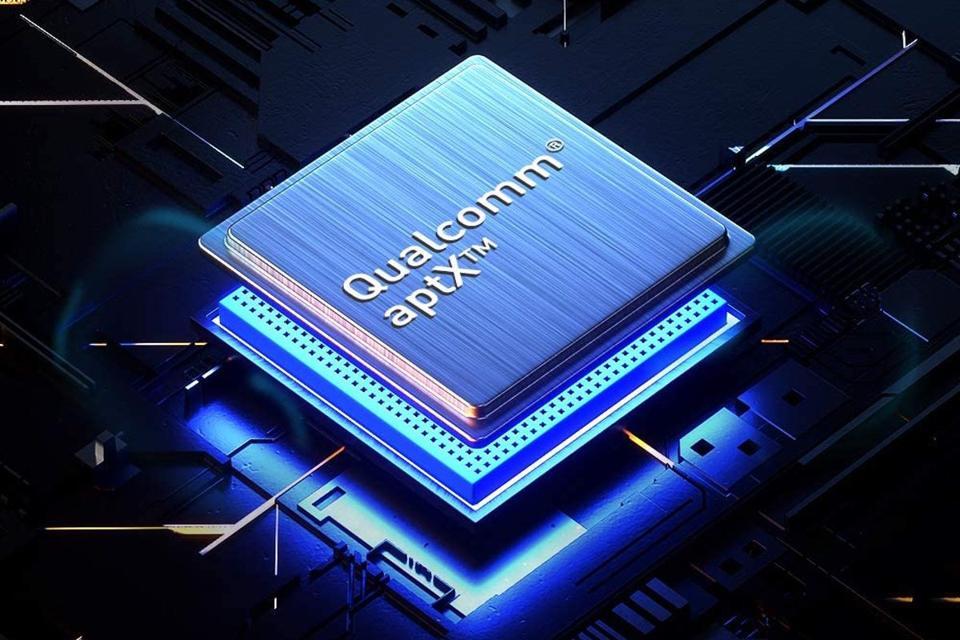Close up of Qualcomm chip