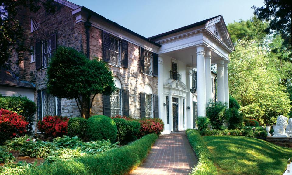 Graceland Exterior Memphis