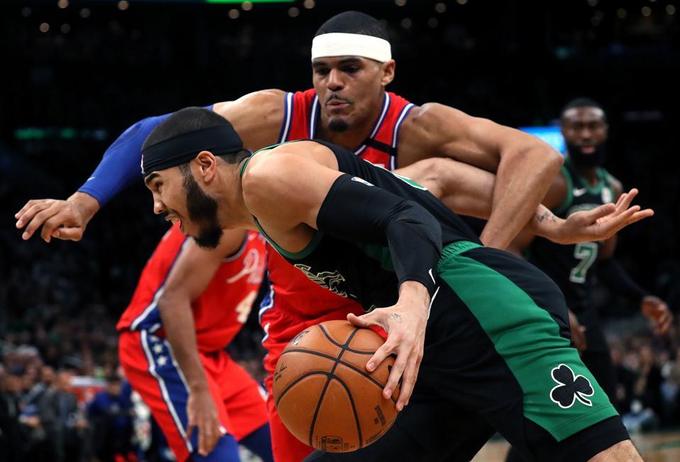 Philadelphia 76ers Vs. Boston Celtics at TD Garden