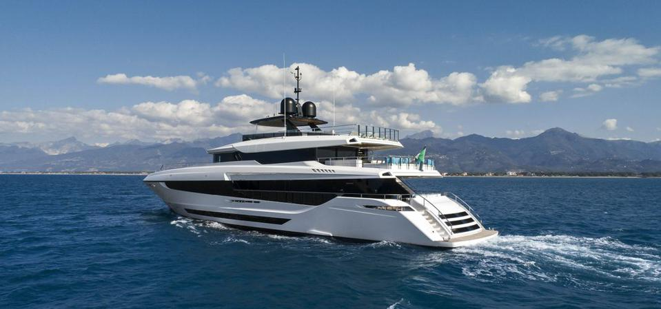 The Magusta 43 will be the largest yacht at the 2020 Cannes Yacht Festival that's scheduled to happen next month.