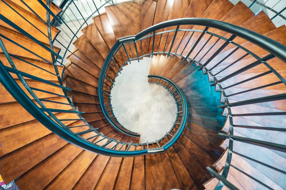 Downward Swirl stairs