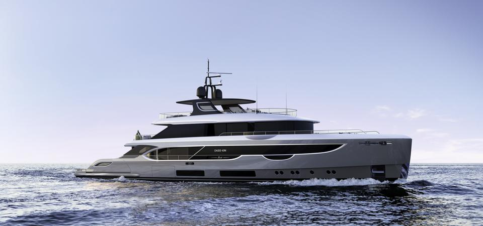 Benetti Oasis 40 meter at the Cannes Yachting Festival