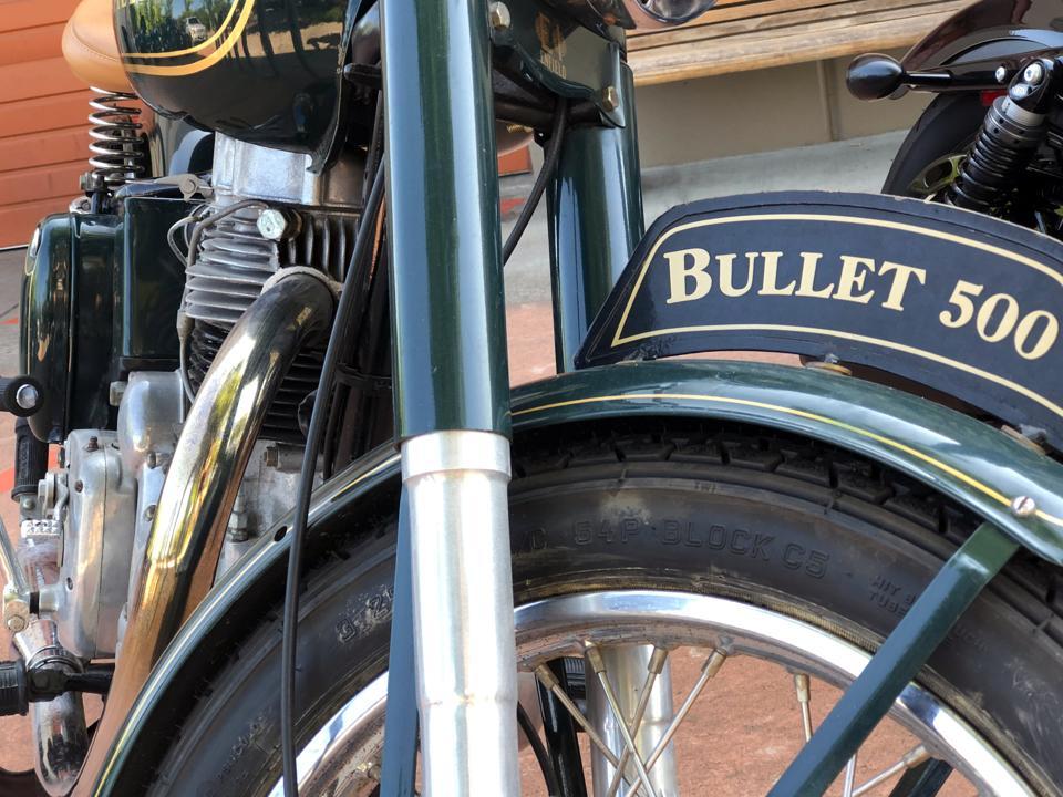 Royal Enfield Bullet 500 motorcycle