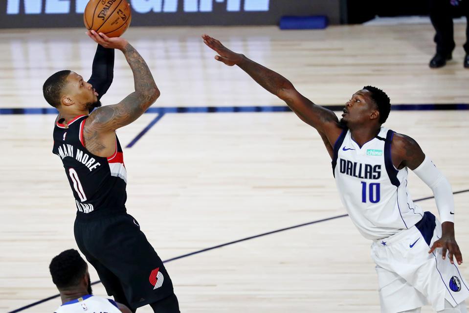 Portland Trail Blazers v Dallas Mavericks