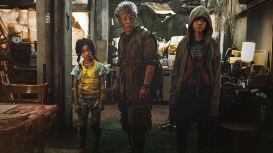 One resourceful family has managed to survive the zombie apocalypse.