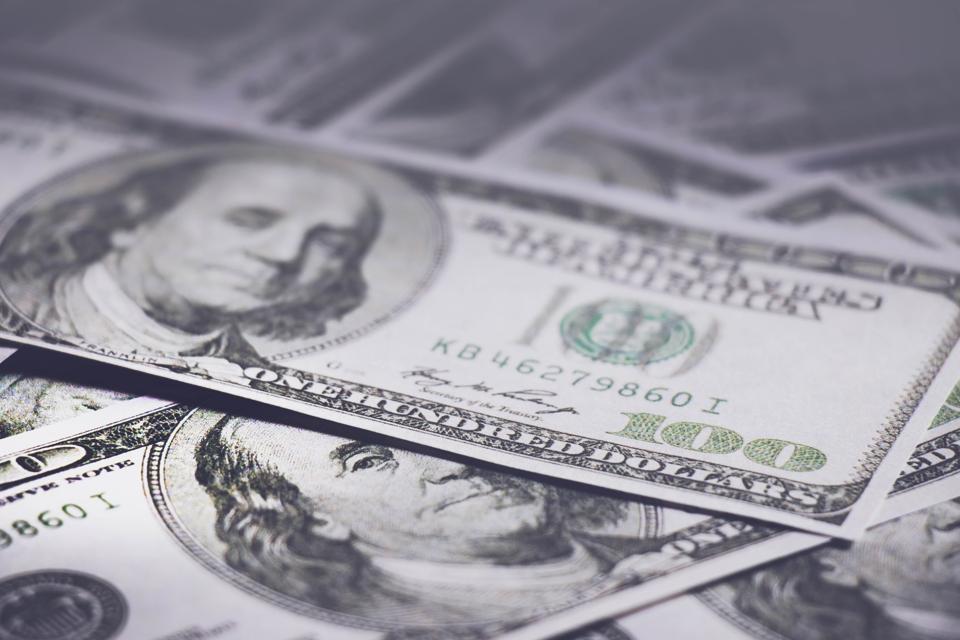 Full Frame Shot Of Money