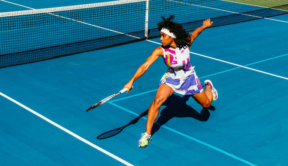 Andre Agassi Challenge Court U.S. Open