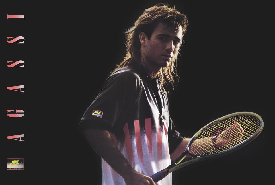 Andre Agassi Challenge Court Nike