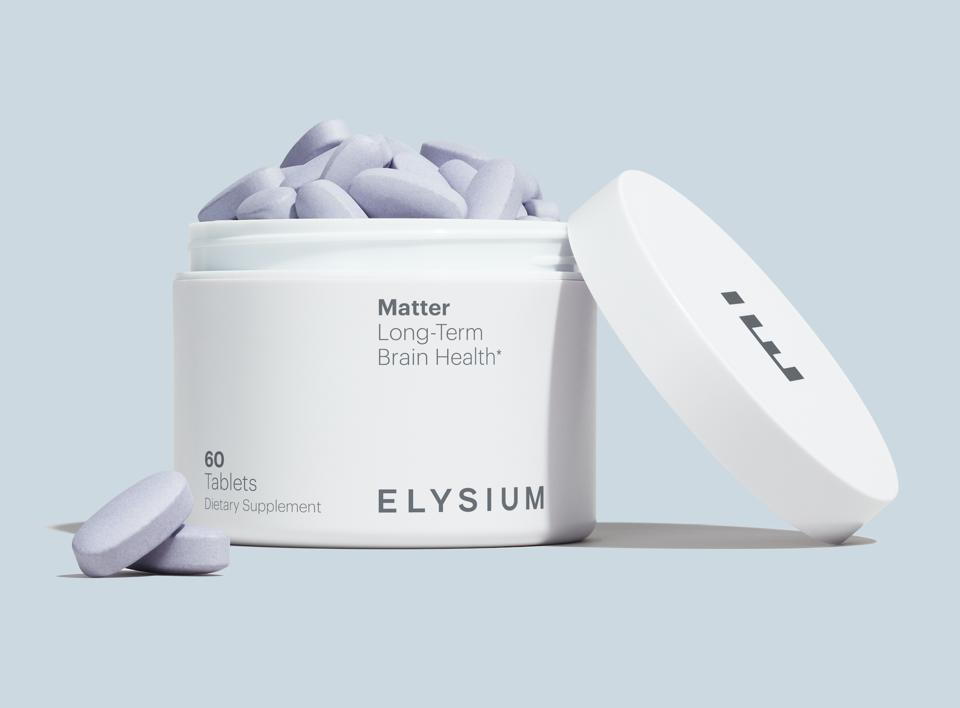 Elysium Health Matter age-related brain atrophy memory learning B-vitamin complex