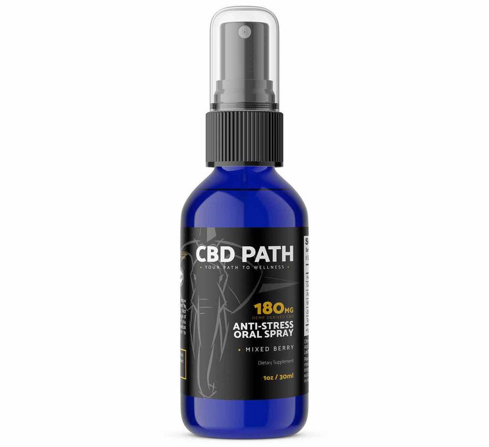 CBD Path Anti-Stress Oral spray 180mg