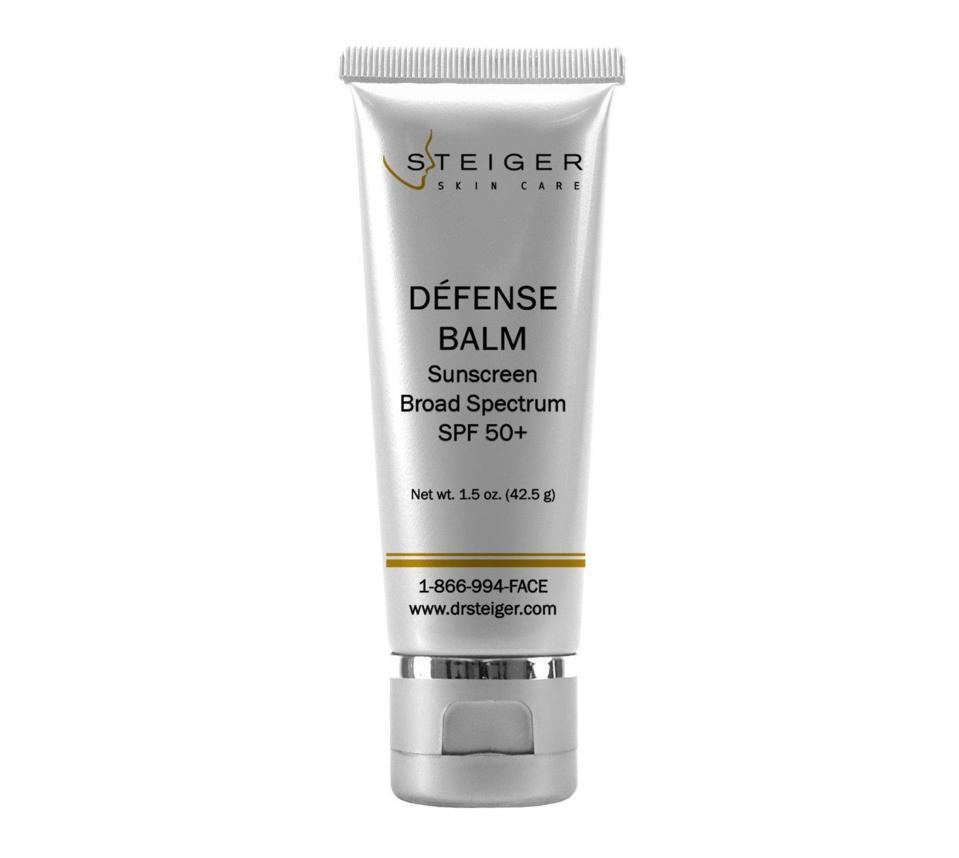 Steiger Skin Care Defense Balm SPF Sunscreen Jacob D. Steiger M.D. Facial Plastic Surgeon