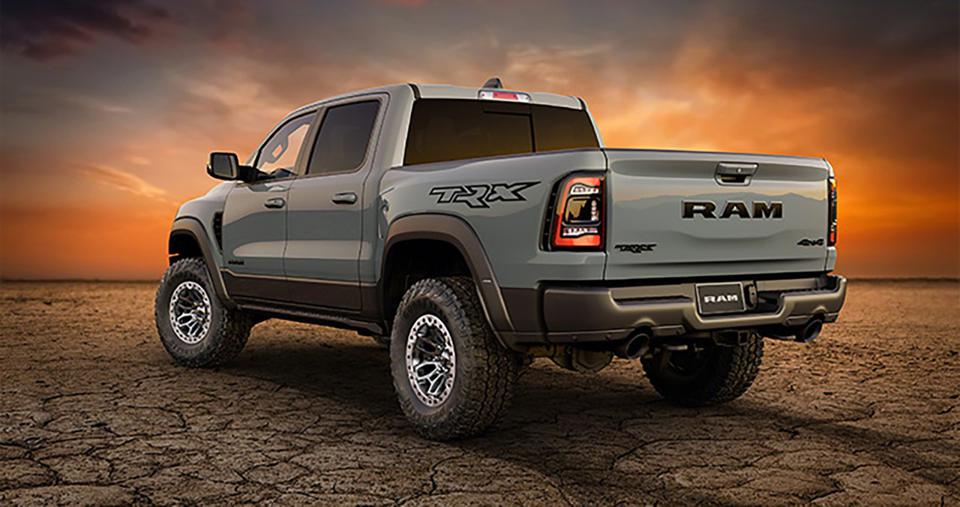 fca continues to spread the hellcat love - 2021 ram 1500 trx