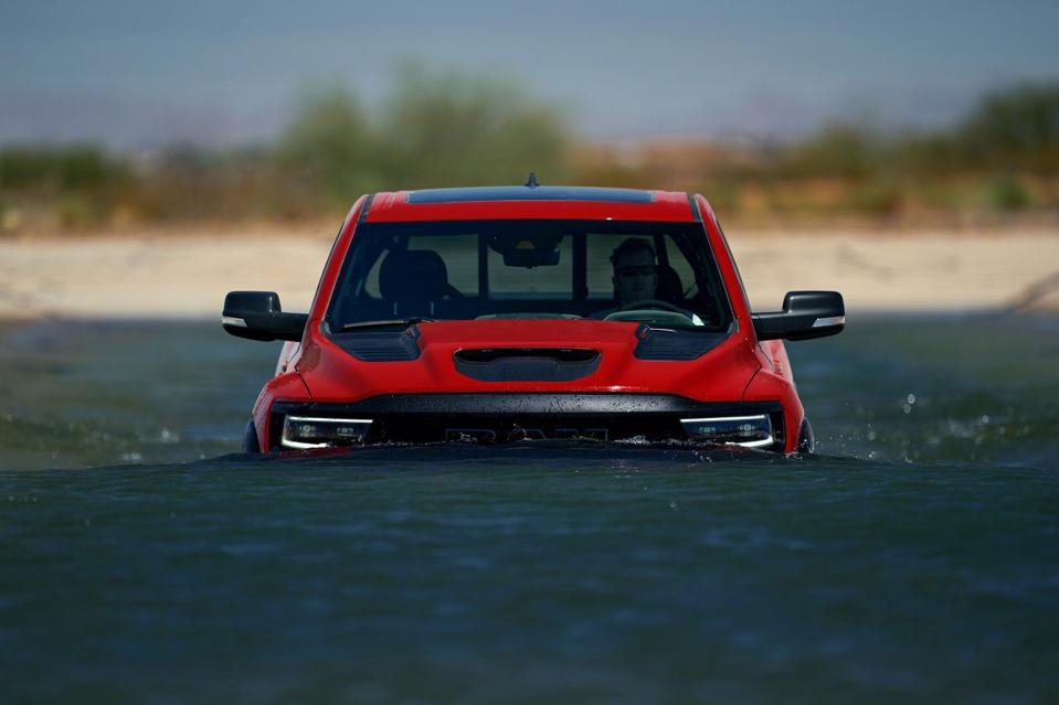 2021 Ram 1500 TRX can ford through 32-inches of water