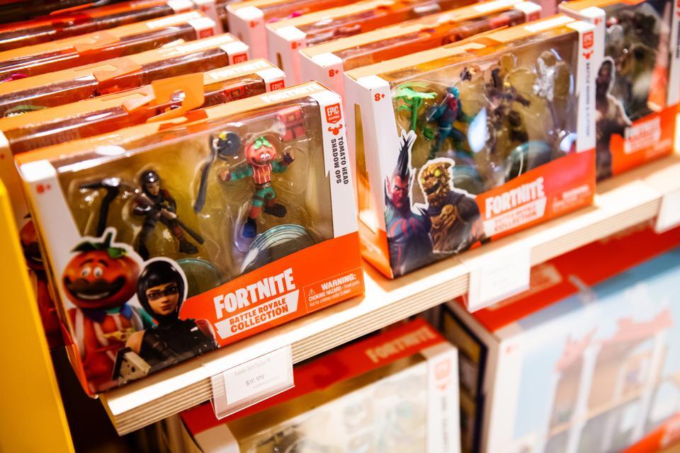 Fortnite toys.