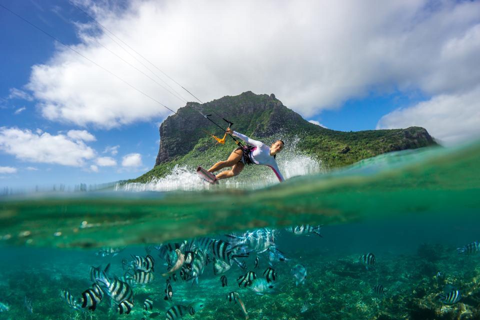 Kiting In Mauritius