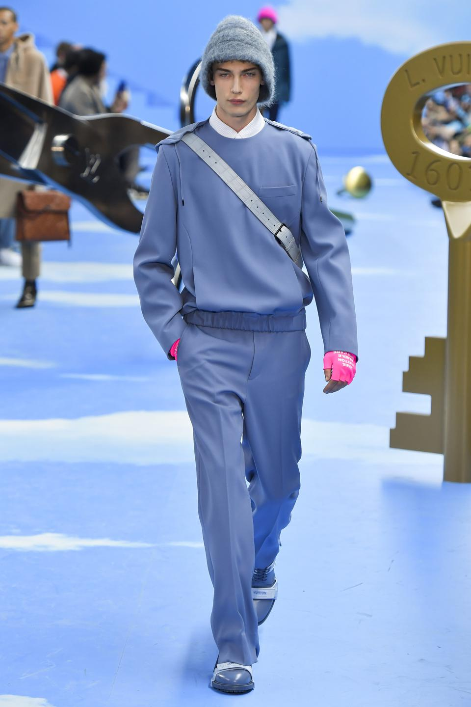 Louis Vuitton : Runway - Paris Fashion Week - Menswear F/W 2020-2021