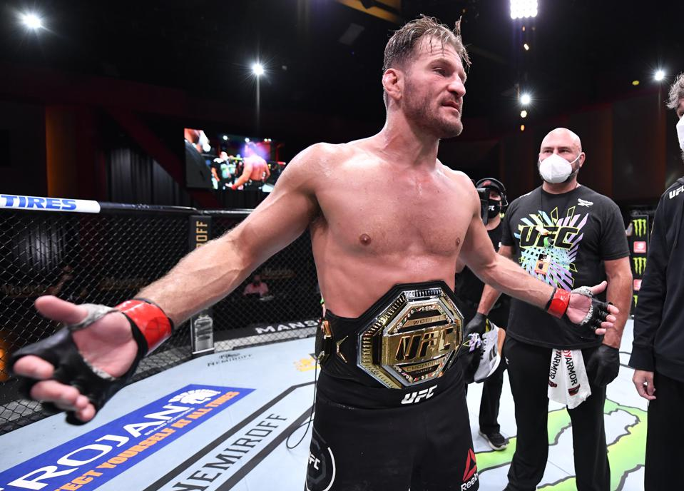 Stipe Miocic retained his UFC heavyweight title with a win over Daniel Cormier at UFC 252: Miocic vs. Cormier 3