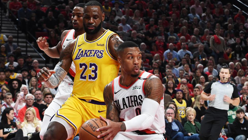 2020 NBA Playoffs Preview: Los Angeles Lakers Vs. Portland Trail ...