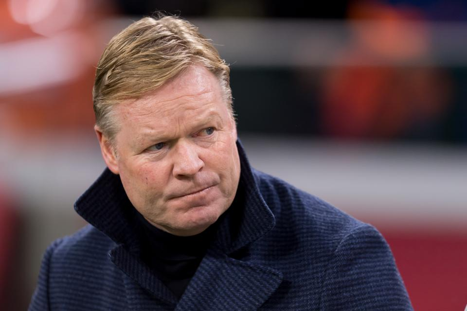 Ronald Koeman is in line to replace Quique Setien at FC Barcelona.