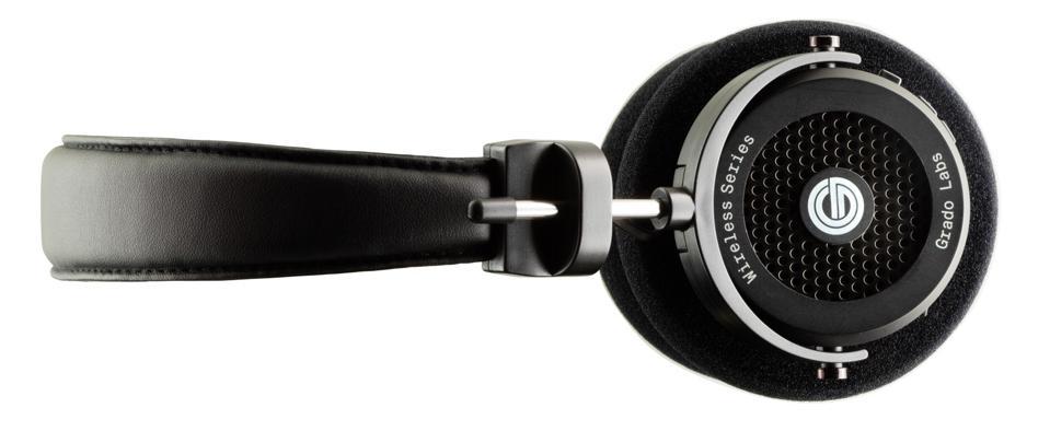 Side view of Grado GW100 wireless headphones