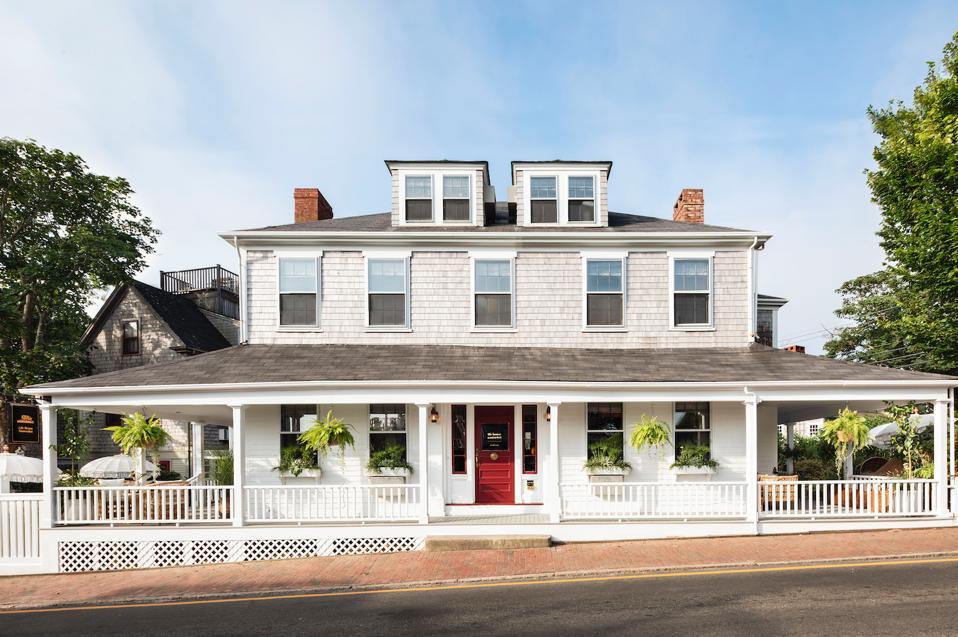 NANTUCKET, MA - View of Life House Nantucket