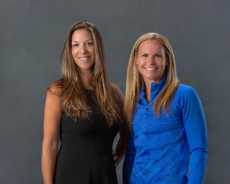 Dr. Kristine Keane and Christie Pearce Rampone