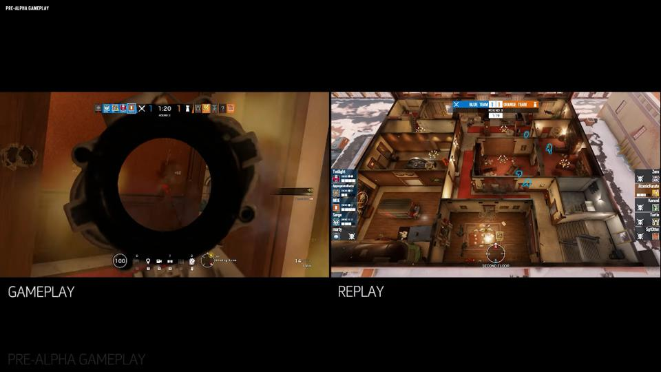 Match Replay in Rainbow Six Siege's Operation Shadow Legacy.
