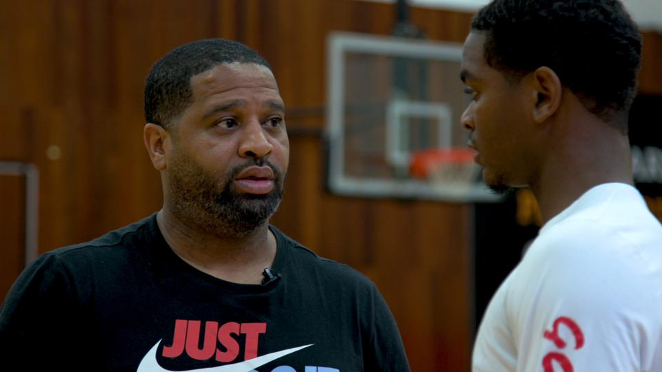 Former Arizona assistant Book Richardson is now coaching with his old AAU program, the NY Gauchos, and hosting a podcast.