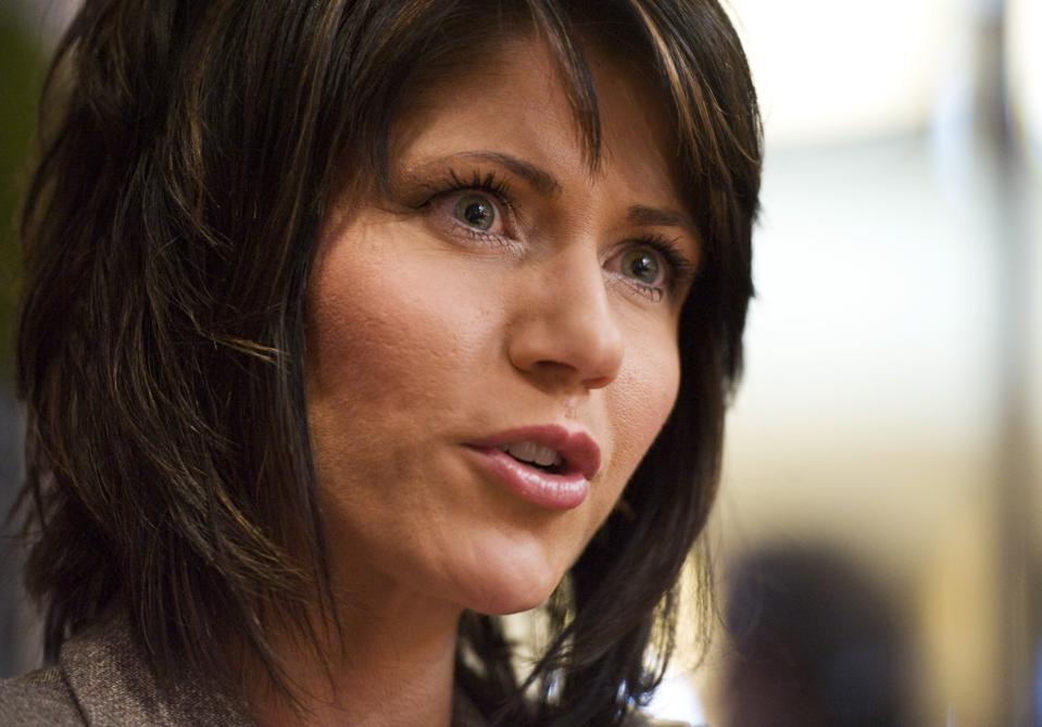 South Dakota Governor Kristi Noem turned down Lost Wages Assistance funds that would have provided South Dakotans with an extra $300 in federal unemployment benefits per week.