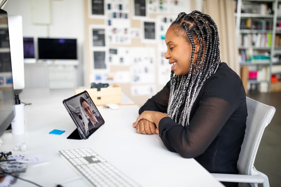 Reverse Mentoring can take place through technology