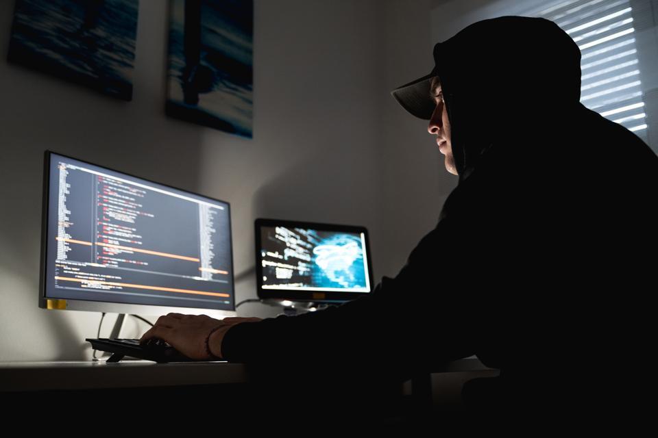Computer Hacker Cyber Attack