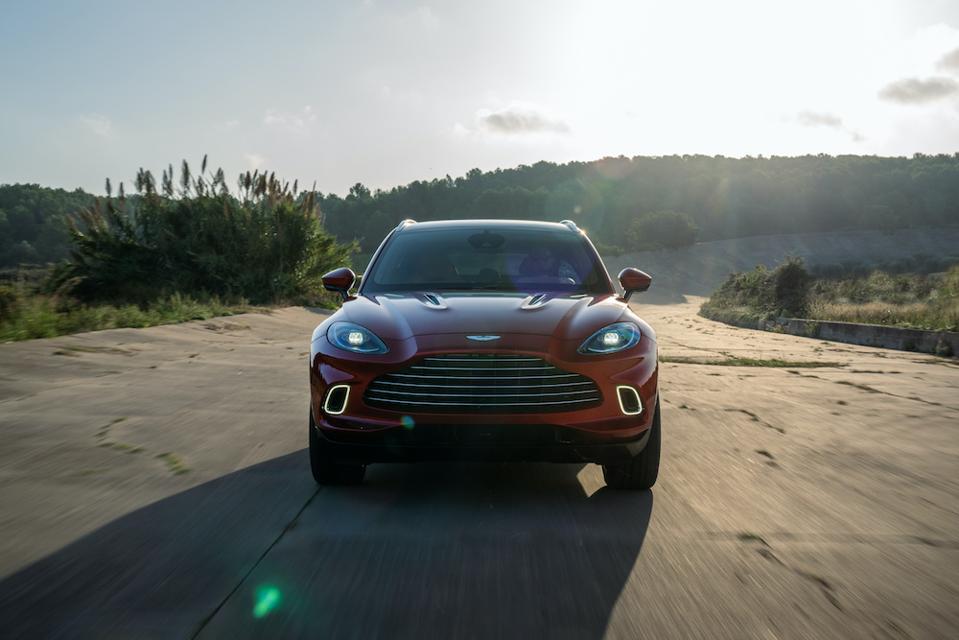 Aston Martin DBX luxury SUV