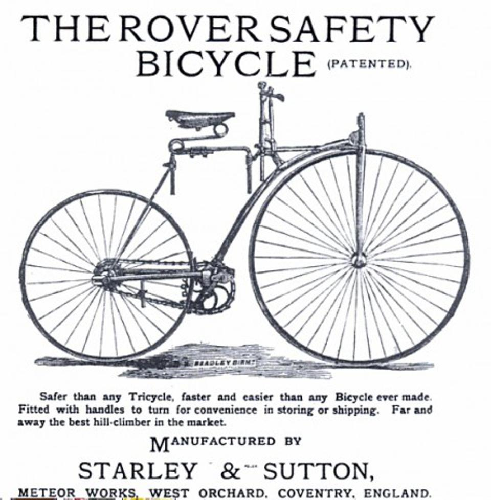1884 bicycle
