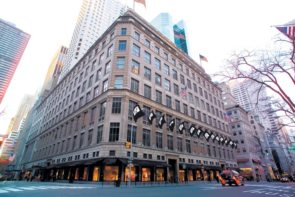 Celebrity Beauty: Saks Fifth Avenue Fresh York Flagship