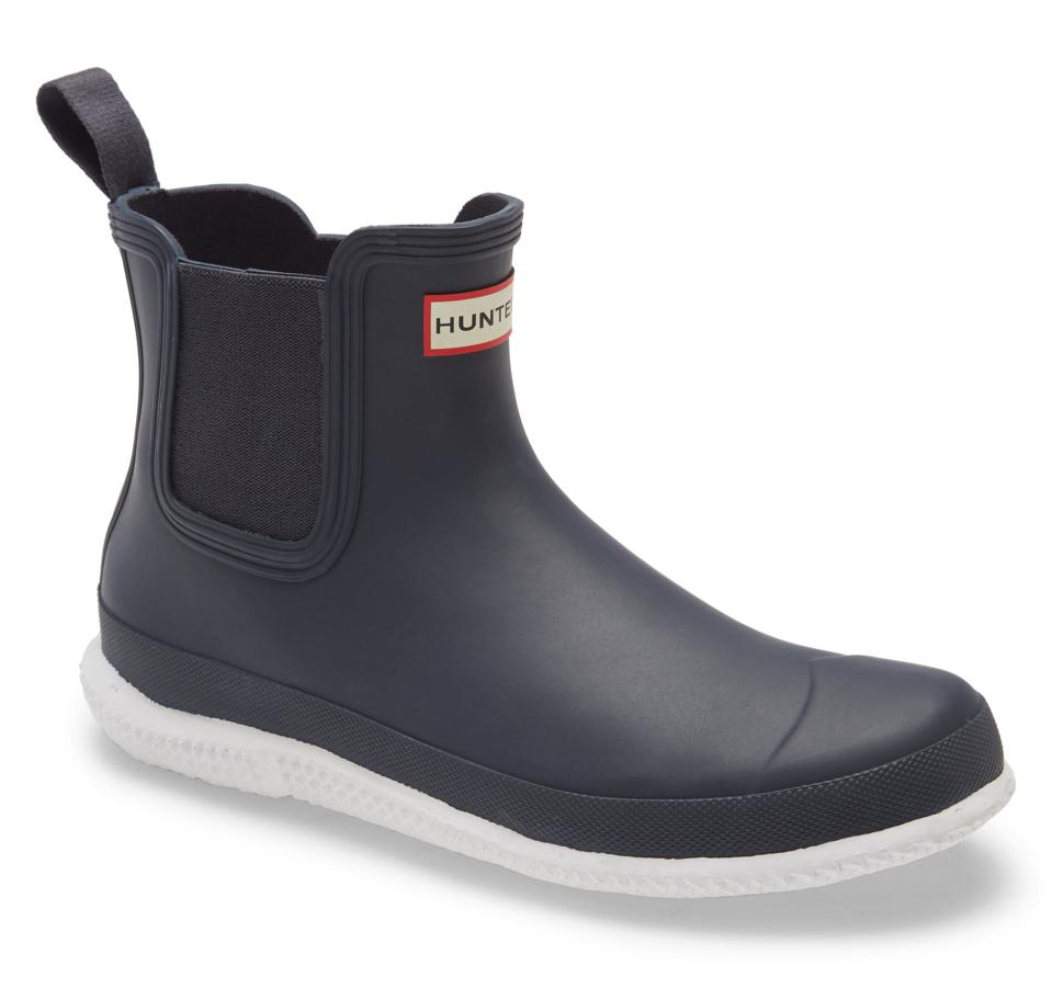Hunter Calendar Sole Waterproof Chelsea Rain Boot