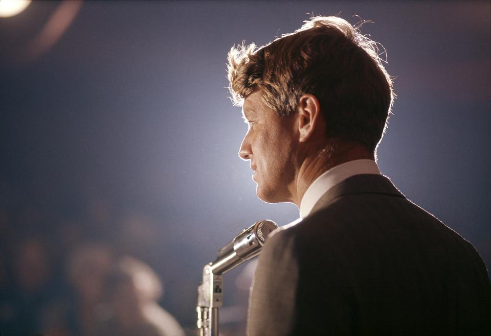 RFK Delivers Campaign Speech