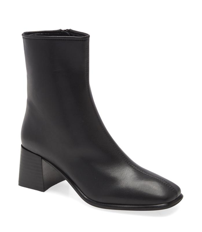 Jeffrey Campbell Troye Square Toe Bootie