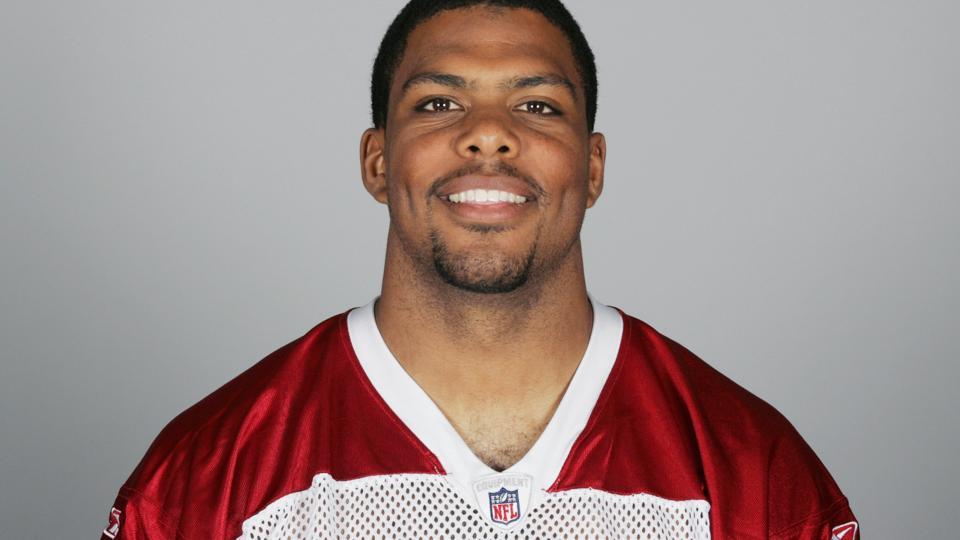 Jason Wright of the Arizona Cardinals poses for his 2009 NFL headshot at photo day in Glendale, Arizona.
