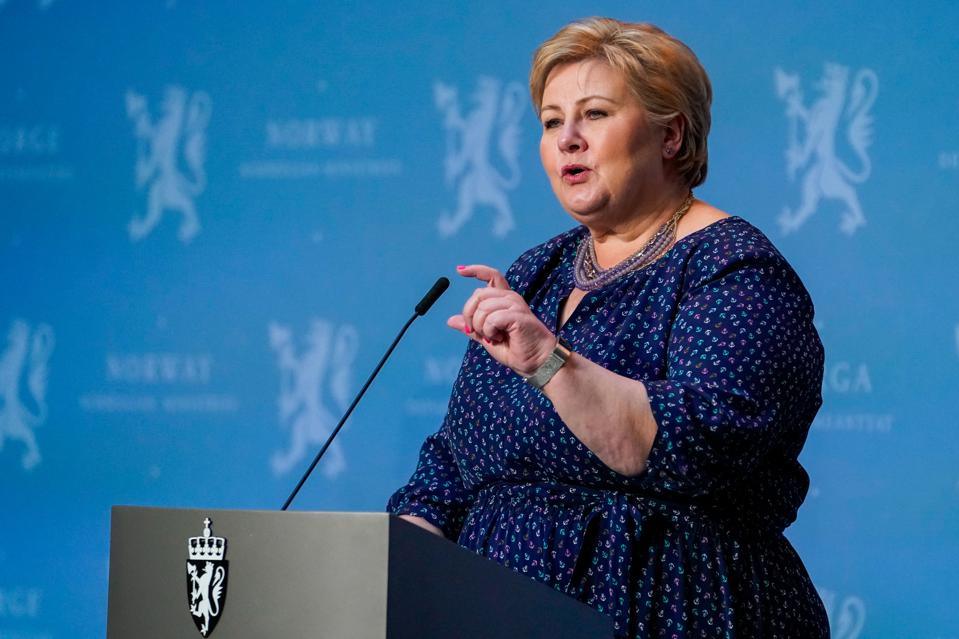 Norway's Prime Minister Erna Solberg and Norway have taken a strong position supporting the controversial EEXI proposal