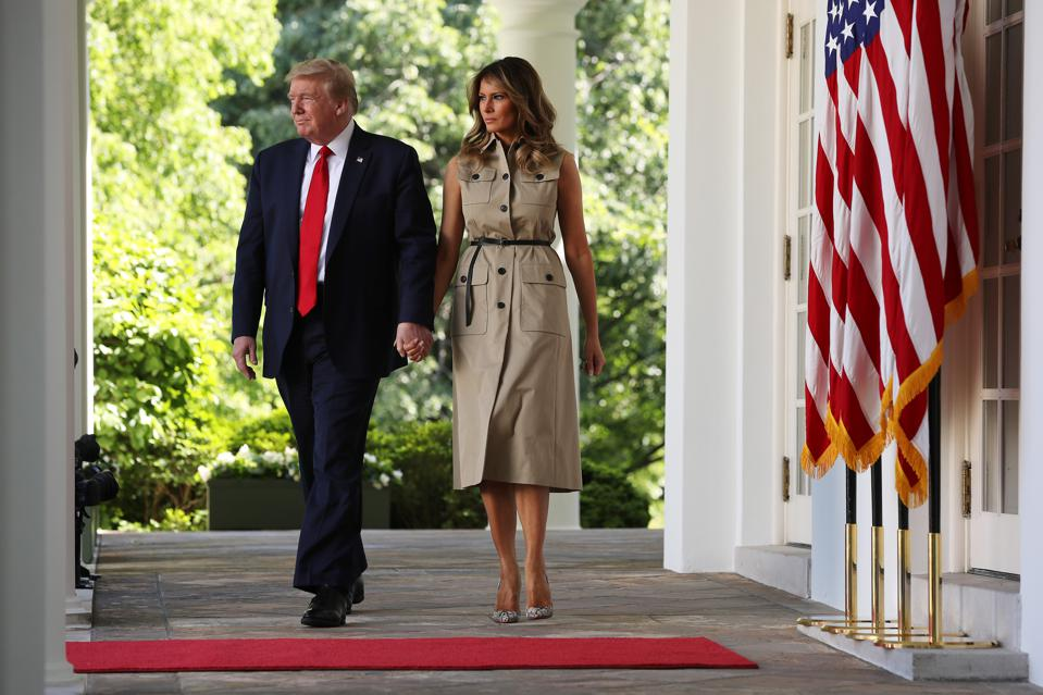 Melania Trump S Mixed Fashion Legacy As First Lady Of The United States