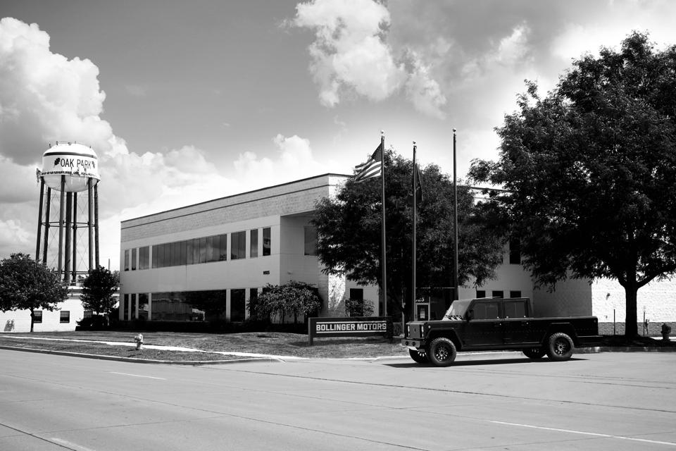 Bollinger Motors HQ in Oak Park