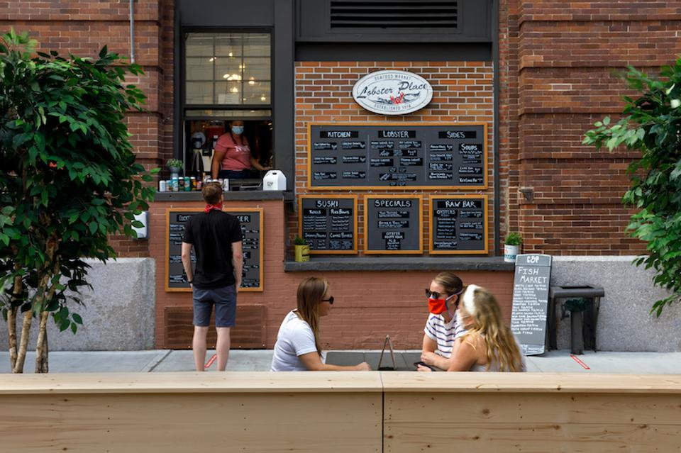 Lobster Place is one of 17 vendors at Chelsea Market participating in its Outdoor Dining Experience.