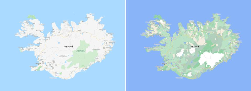 Iceland by Google