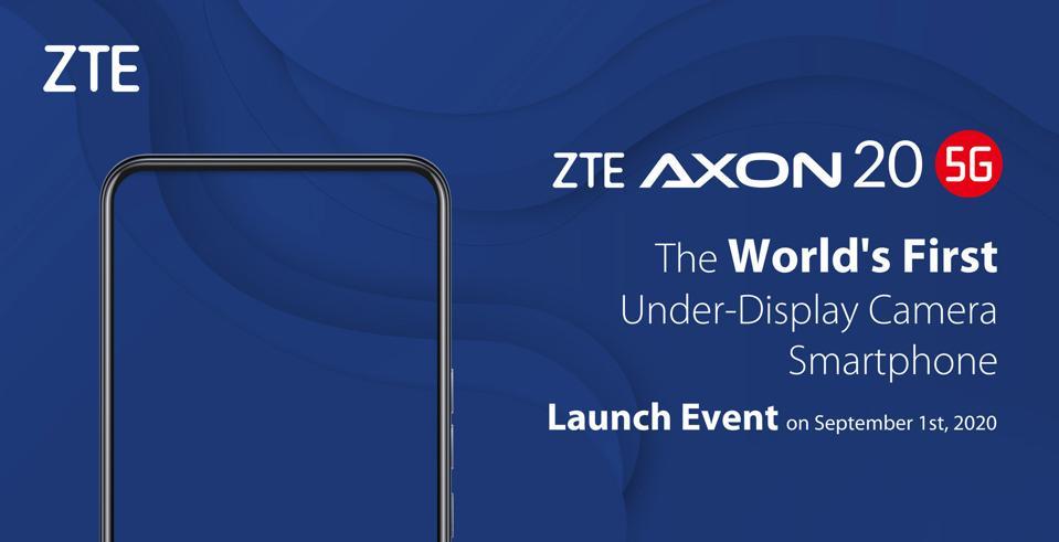ZTE Axon 20 5G Launch Event