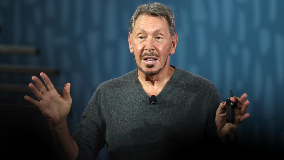 Oracle Founder Larry Eliison Delivers Keynote At Oracle OpenWorld