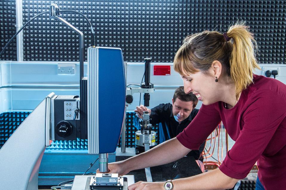 Scientists working at the Lancaster University Quantum Optics Lab