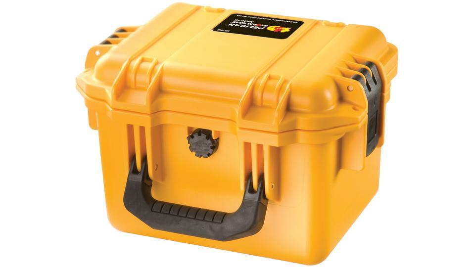 Pelican Storm Case in yellow