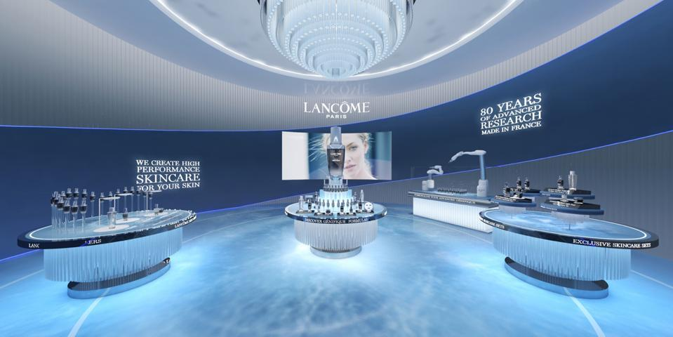 Lancôme debuts its first-ever virtual pop-up based in Singapore, featuring five discovery zones