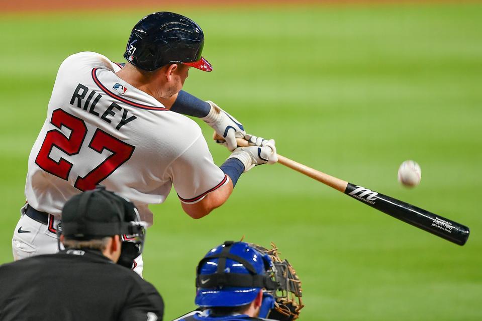 MLB: AUG 04 Blue Jays at Braves